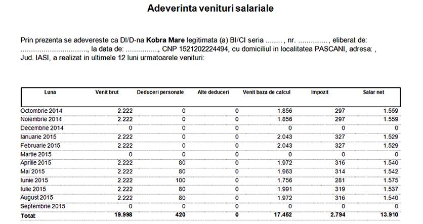 ADEVERINTA VENITURI SALARIALE 03