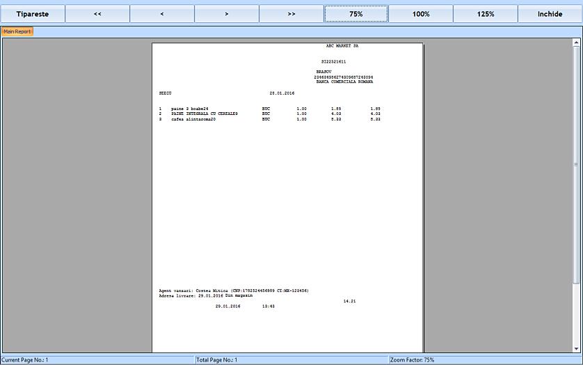 Listare aviz insotire marfa pe baza unui bon fiscal retail 04