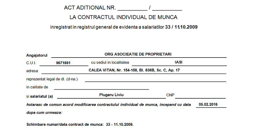 act aditional modificare numar data contract de munca 02