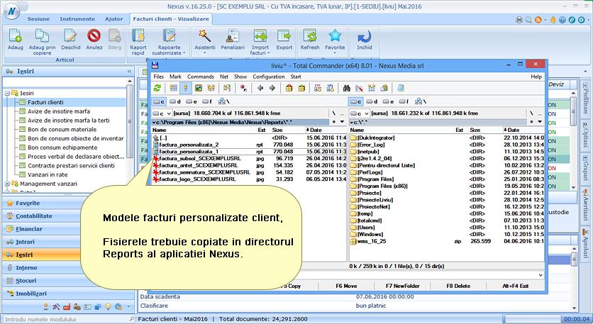 facturi personalizate client multiple 01