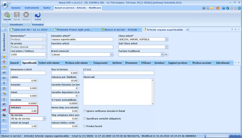 Modificare conditie promotie in functie de cantitate pe produs 03