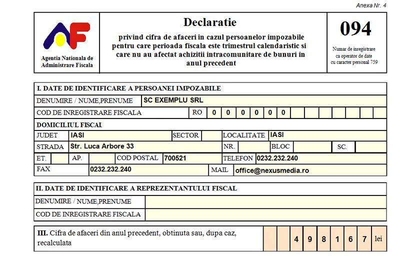 formular 094