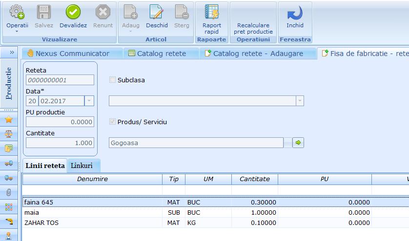 Catalog retete Duplicare reteta 02