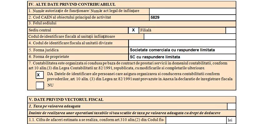 formular 010 contabiliate contract prestari servicii 2