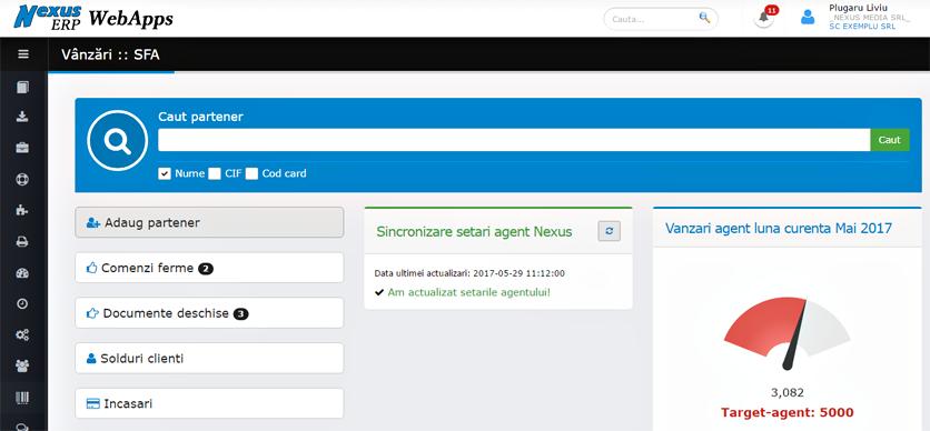 SFA WebApps adaugare partener informatii site ministerul de finante 1