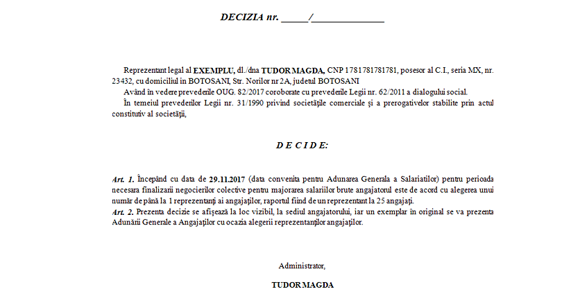 Acord angajator negociere salarii 3