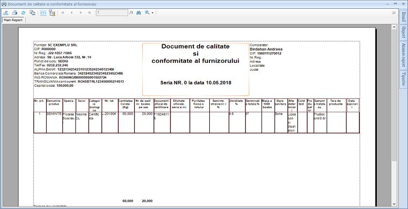 Certificate agricultura 05