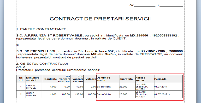 sursa date contracte prestari servicii