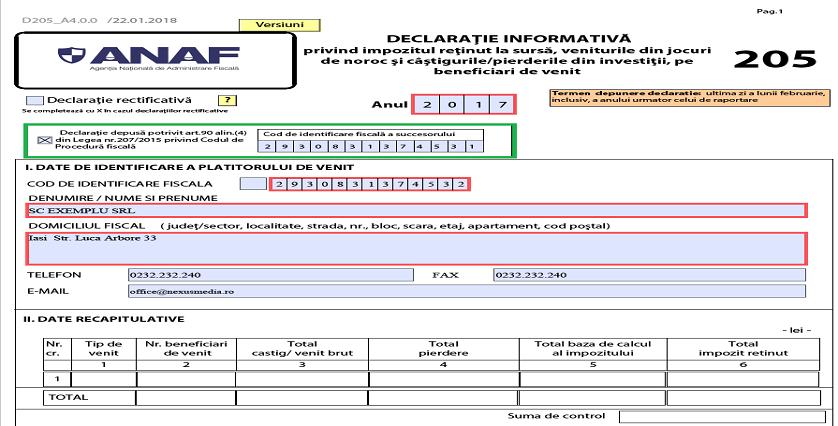 Declaratie205 an fiscal01