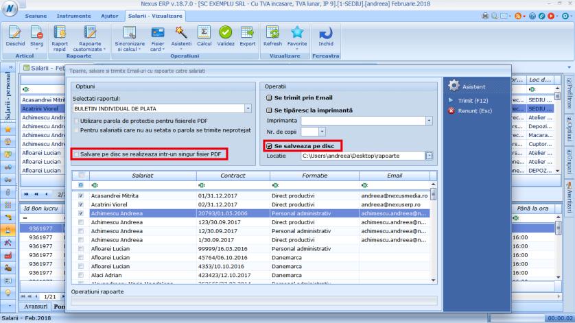 Modificare fereastra trimitere email rapoarte salariati 03