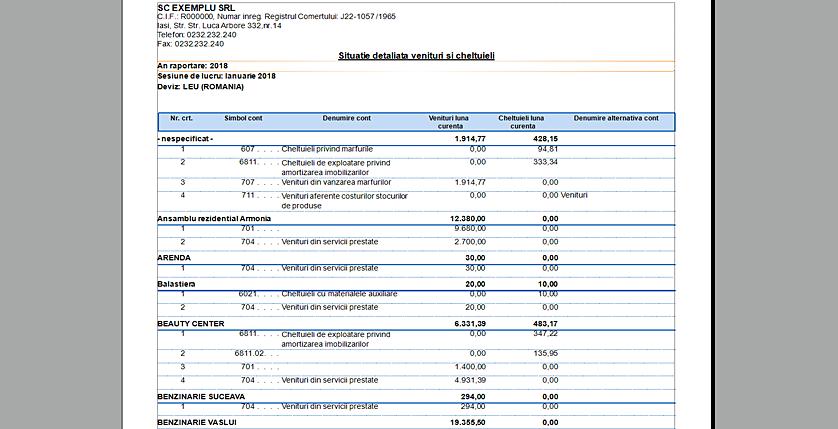 3raport2 analiza centre profit