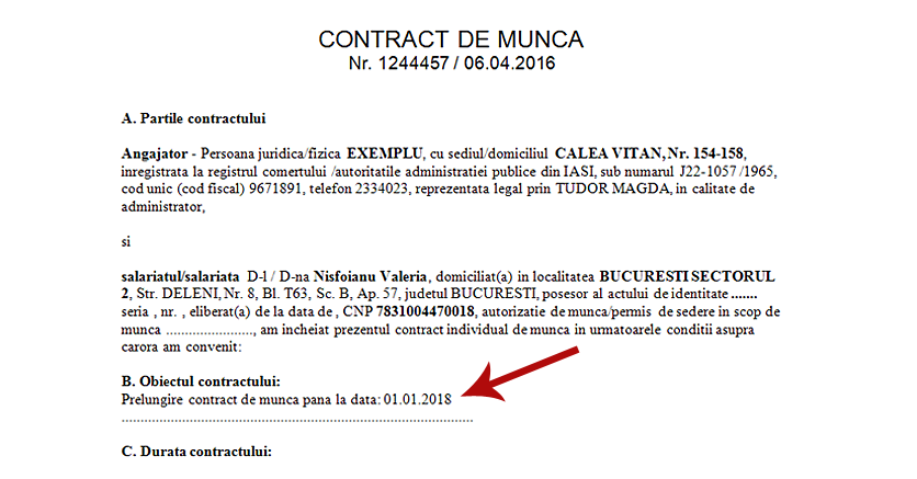 Sursa date contract munca prelunfire contract 4