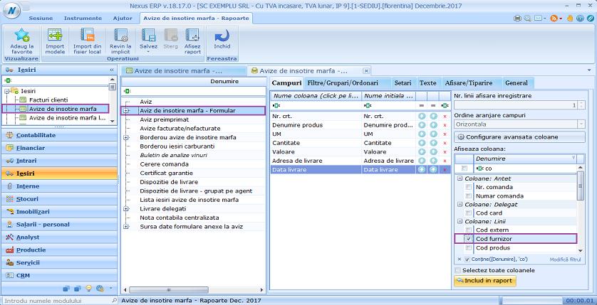 Facturi clienti formulare facturi clienti cod furnizor 04