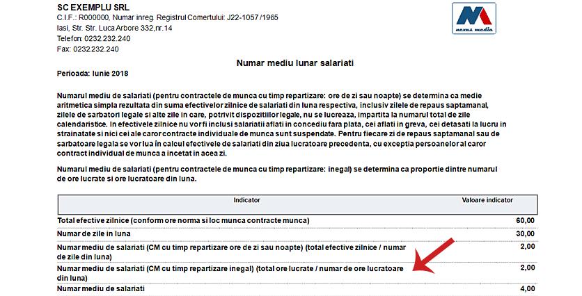 numar mediu salariati contracte timp inegal 3
