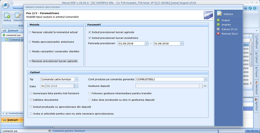 Comenzi furnizori metode02