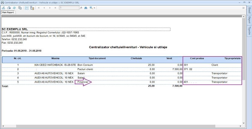 Vehicule si utilaje centralizator filtre grupari camp nou 04