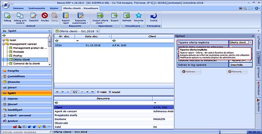 oferta clienti tiparire oferta implicita01