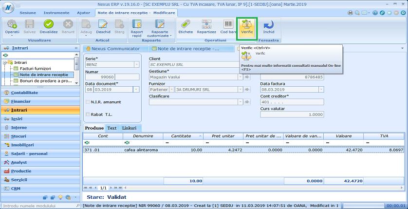 verificare prin scanare nir01
