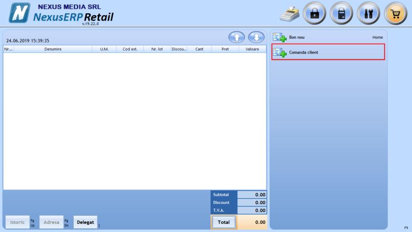 Setare verificare stoc produs comanda client 03
