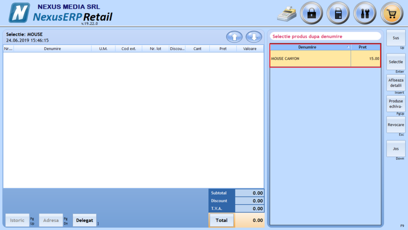 Setare verificare stoc produs comanda client 05