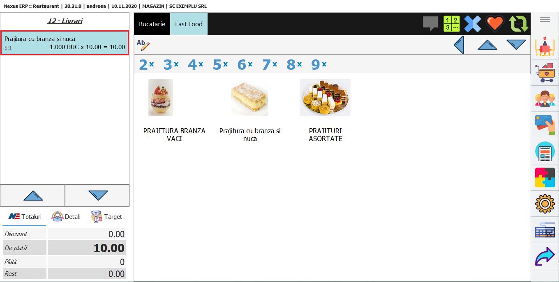 Mod vanzare in easy retail 06