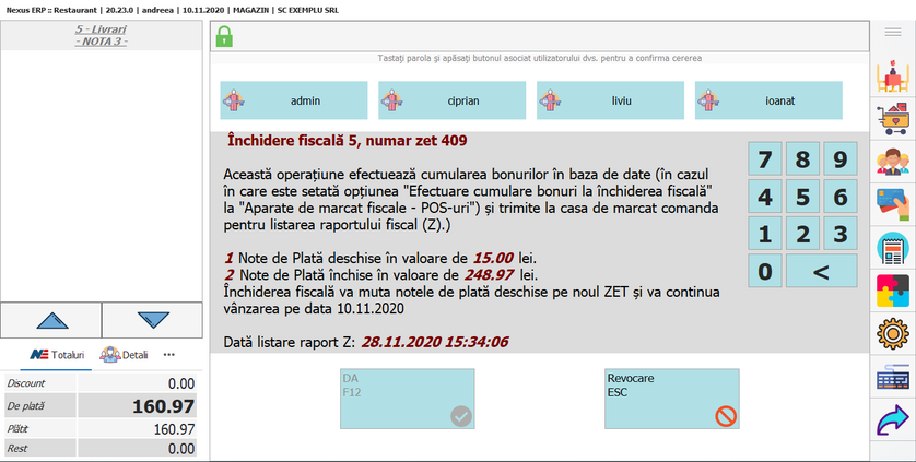 Drepturi raport x raport x 03