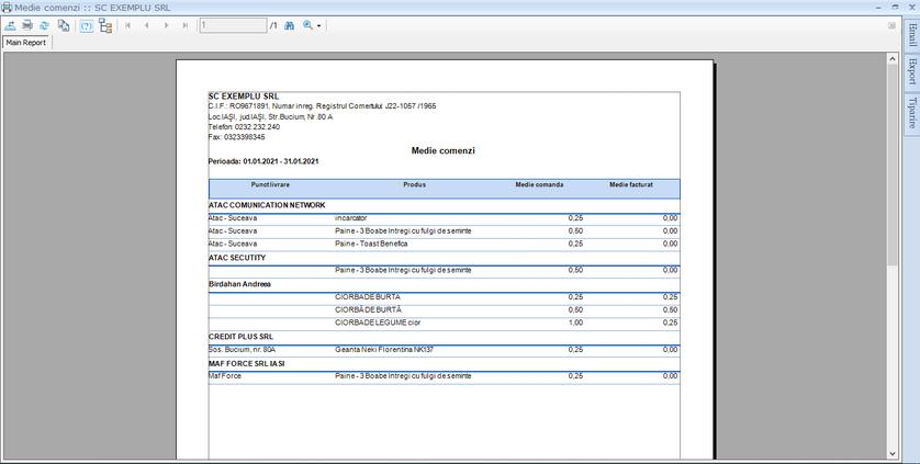 Creare rapoarte din functii customizate 06