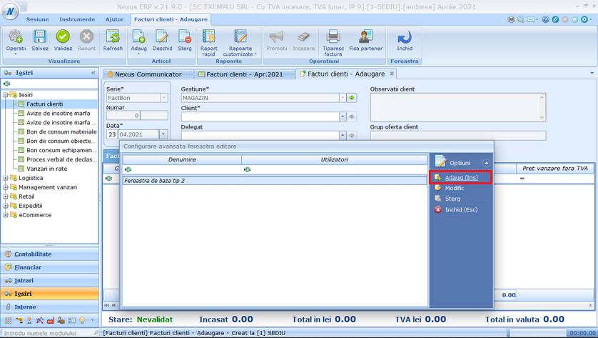 Posibilitati configurare editare 02