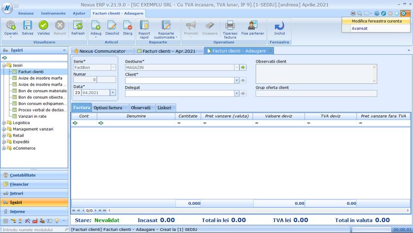 Posibilitati configurare editare 06