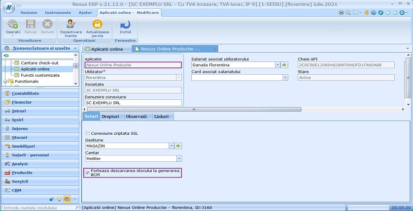 Aplicatii online productie forteaza act stoc optiune 01