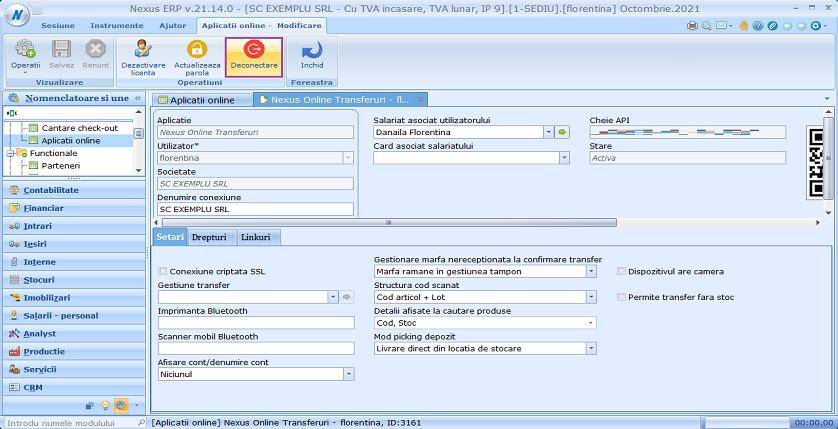 Aplicatii online deconectare utilizatori 03
