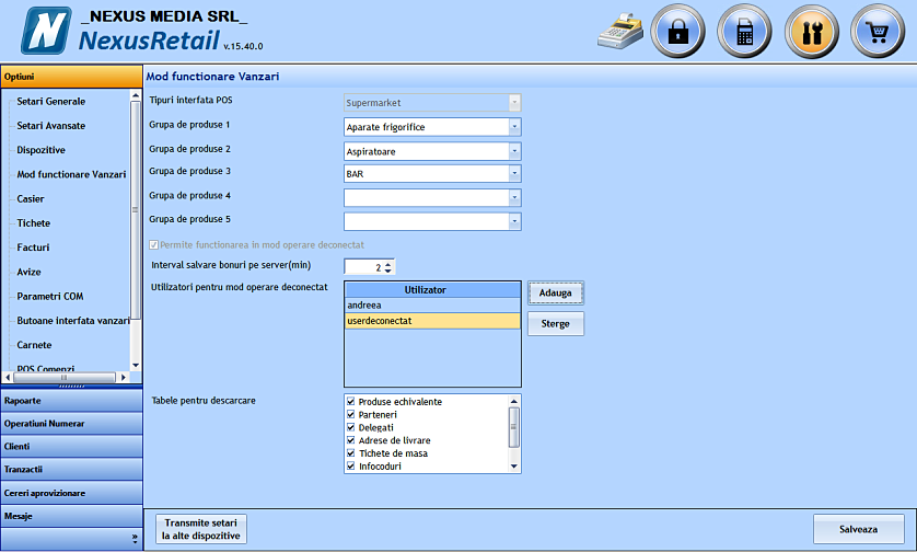 Utilizator deconectat case sensitive 03