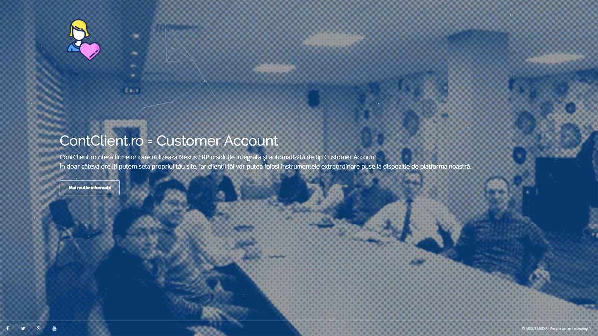 ContClient.ro Customer Account