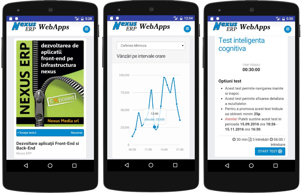 nexus erp apps 1 cursuri bord teste